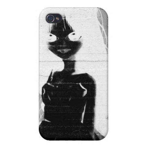 arte de la calle iPhone 4/4S carcasa