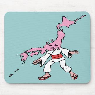 Arte de la caricatura del recuerdo del viaje del v tapetes de ratón