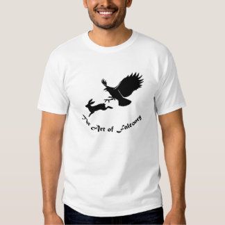 Arte de la cetrería - halcón rojo de la cola remeras