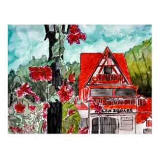 Arte de la ciudad de las montañas alemanas de Hele Postales