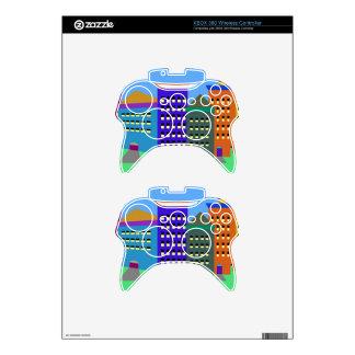 Arte de la ciudad en piel del regulador de Xbox Mando Xbox 360 Skin