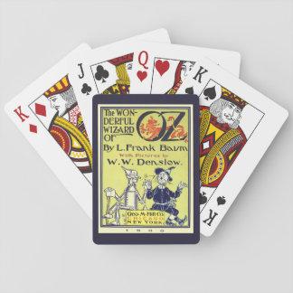 Arte de la cubierta de libro de mago de Oz del Barajas De Cartas