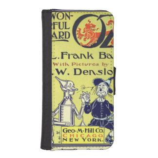 Arte de la cubierta de libro de mago de Oz del Billetera Para Teléfono