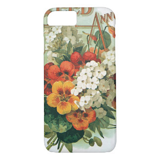 Arte de la cubierta del catálogo de la semilla de funda iPhone 7
