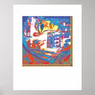 Arte de la cubierta - momia - Griego Poster