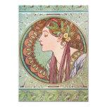 Arte de la diosa de Alfonso Mucha Anuncio