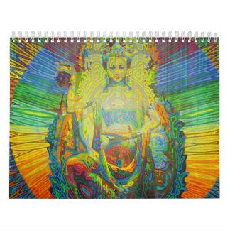 Arte de la diosa de Karmym Calendario
