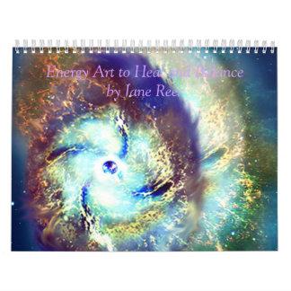 Arte de la energía calendarios