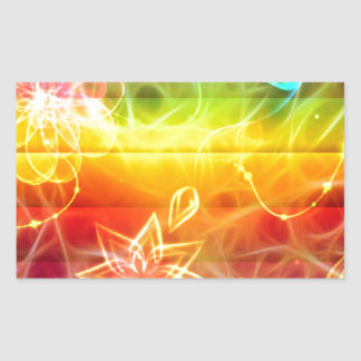 Arte de la energía de la flor de Chakra por amor