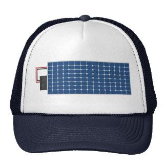 Arte de la energía solar gorra