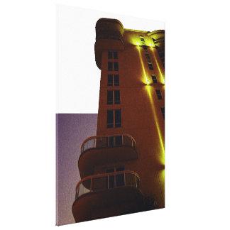 Arte de la esquina de la foto de la arquitectura impresiones en lona estiradas