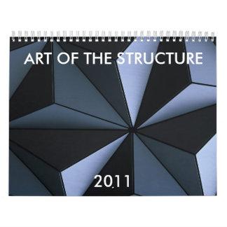 ARTE DE LA ESTRUCTURA, 2011 CALENDARIOS DE PARED