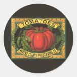 Arte de la etiqueta del cajón de la fruta del
