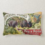 Arte de la etiqueta del cajón de la fruta del cojin