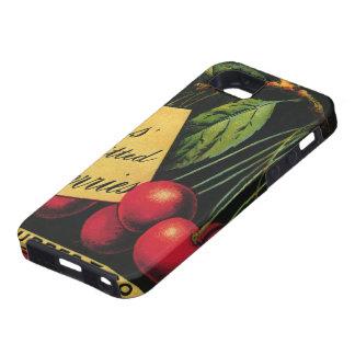 Arte de la etiqueta del cajón de la fruta del iPhone 5 cárcasas