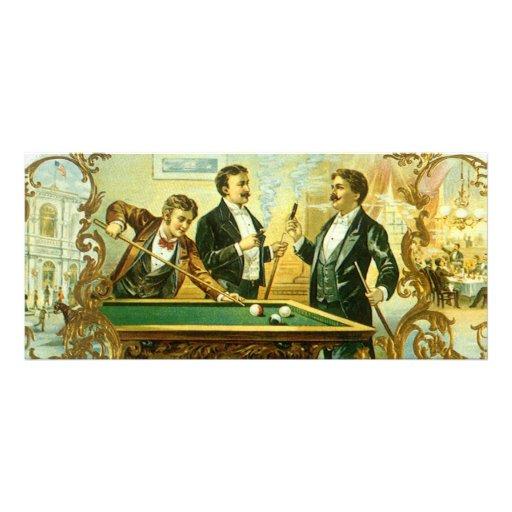 Arte de la etiqueta del cigarro del vintage, lona personalizada