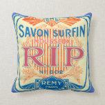 Arte de la etiqueta del francés almohada