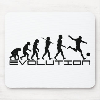 Arte de la evolución del deporte de Futbol del fút Tapete De Raton