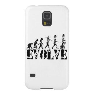 Arte de la evolución del deporte de Unicycling del Carcasas Para Galaxy S5