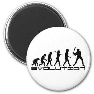 Arte de la evolución del deporte del jugador de bé imán
