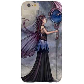 Arte de la fantasía de la hada y del dragón funda de iPhone 6 plus barely there