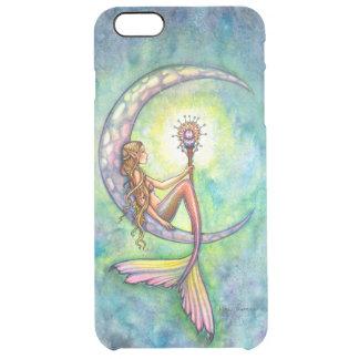 Arte de la fantasía de la luna de la sirena funda clearly™ deflector para iPhone 6 plus de unc