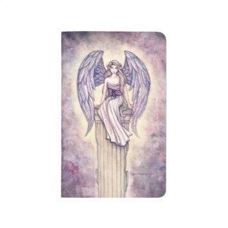 Arte de la fantasía de la perca del ángel cuaderno grapado