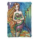 Arte de la fantasía de la sirena del dragón del ma iPad mini cobertura