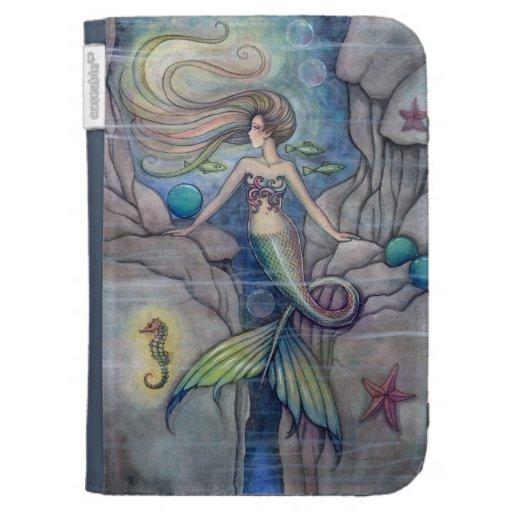 Arte de la fantasía de la sirena y del Seahorse po