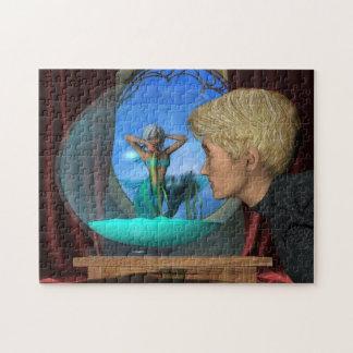 Arte de la fantasía del acuario de Andrews Rompecabeza Con Fotos
