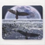 Arte de la fantasía del cuervo del ~ del BAILE del Alfombrilla De Raton