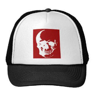 Arte de la fantasía del metal rojo y blanco del gorra