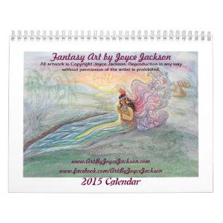 Arte de la fantasía por el calendario de Joyce