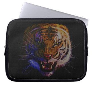 Arte de la fauna del gato grande del tigre del funda computadora