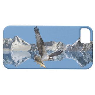 Arte de la fauna del vuelo Osprey, de los pescados iPhone 5 Fundas