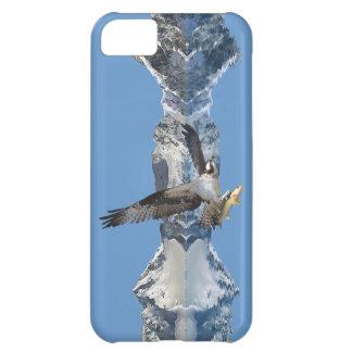 Arte de la fauna del vuelo Osprey, de los pescados