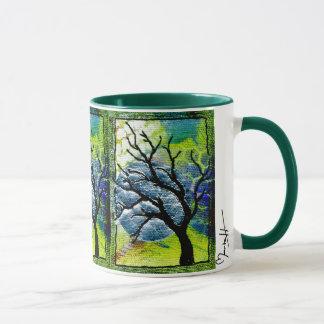 Arte de la fibra del árbol y de la luna