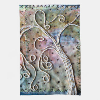 Arte de la fibra - sauce caprichoso toalla