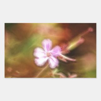 Arte de la flor rectangular altavoces