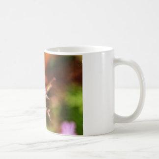 Arte de la flor tazas de café