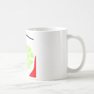 Arte de la flor taza de café