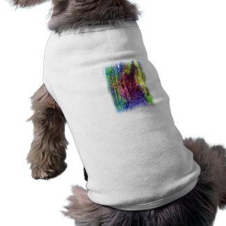 Arte de la foto del árbol caido camisa de perrito