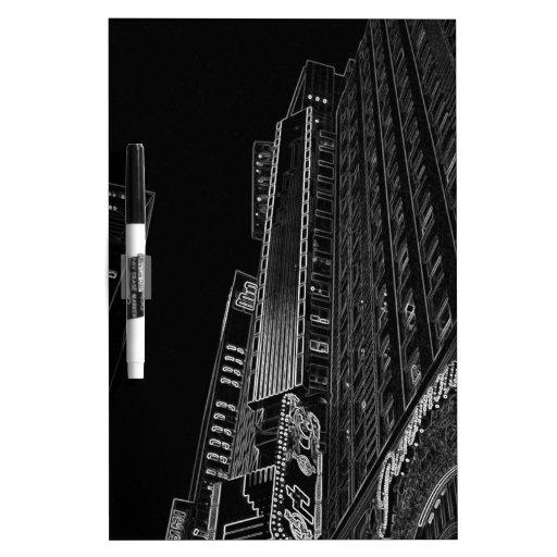 Arte de la foto del WalkAbout de las noches de New Tableros Blancos