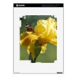Arte de la fotografía del iris y de la mariposa de iPad 3 pegatina skin