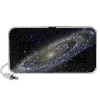Arte de la galaxia de Milkyway Laptop Altavoz