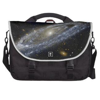 Arte de la galaxia de Milkyway Bolsas De Portátil