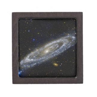 Arte de la galaxia de Milkyway Cajas De Regalo De Calidad