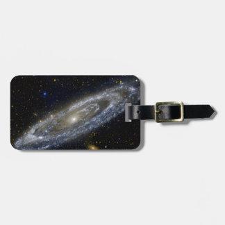 Arte de la galaxia de Milkyway Etiquetas Para Maletas