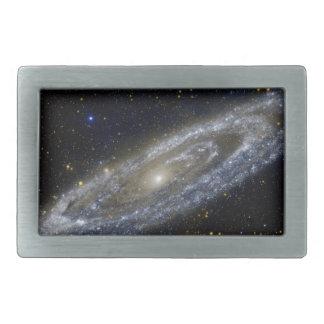 Arte de la galaxia de Milkyway Hebilla Cinturón Rectangular