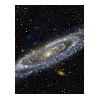 Arte de la galaxia de Milkyway Membrete Personalizado